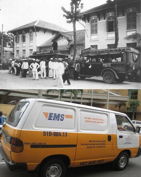 Nghề đưa thư ở Sài Gòn bắt đầu phát triển từ đầu thế kỷ 20, chủ yếu là bằng chân, do các đoàn người vận chuyển từ nơi này đến nơi khác, chỉ một số ít thư được vận chuyển bằng xe. Khi đó đất phương Nam còn nhiều rừng rậm thú dữ nên nghề đưa thư khá nguy hiểm. Ngày này nhờ sự phát triển của công nghệ thông tin, máy móc thiết bị hiện đại nên việc thông tin liên lạc đã nhanh chóng, tiện lợi hơn nhiều lần.
