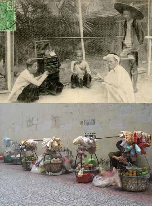 Gánh hàng rong đã có từ rất lâu đời, và trở thành một nét văn hóa đặc trưng rất Sài thành. Trải bao thăng trầm dâu bể của thời cuộc, gánh hàng rong ngày nay không khác xưa là mấy, vẫn đơn sơ quà vặt, bình dị những tiếng rao.