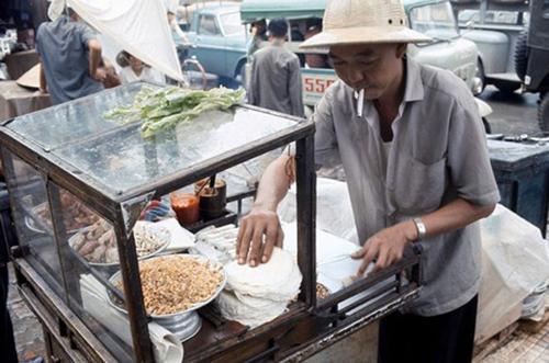 Xe bò bía ở Sài Gòn những năm 1970