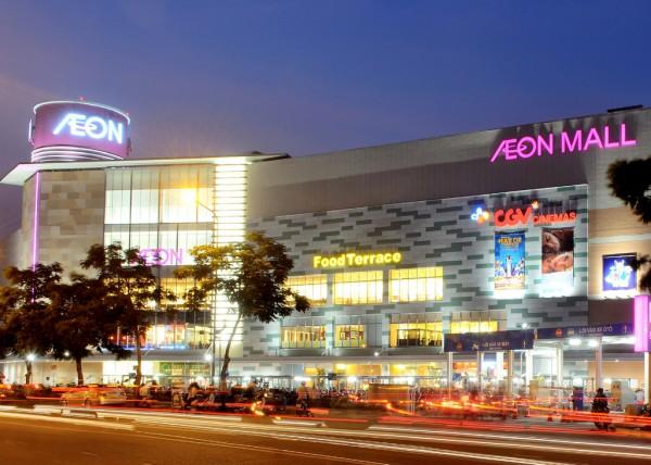 Aeon Mall Tân Phú Celadon. Ảnh: Đông Tây TCI