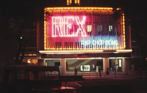 Rạp Rex chính là nơi chiếc thang cuốn đầu tiên ở Việt Nam được sử dụng.