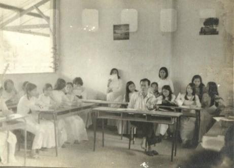 Lớp học năm 1968.