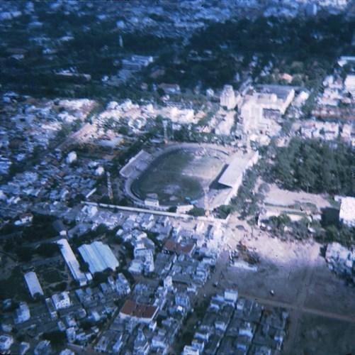 Sân vận động Cộng Hòa (nay là sân vận động Thống Nhất).