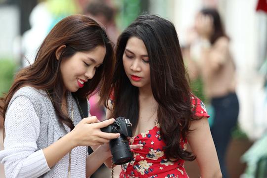 Cùng ghi lại những khoảng khắc giữa thời tiết se lạnh của Sài Gòn