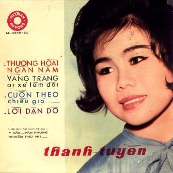 Ca sĩ Sài Gòn xưa - Thanh Tuyền