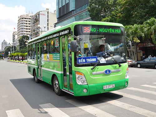 Sài Gòn -  điều chỉnh xe buýt tết 2016 1