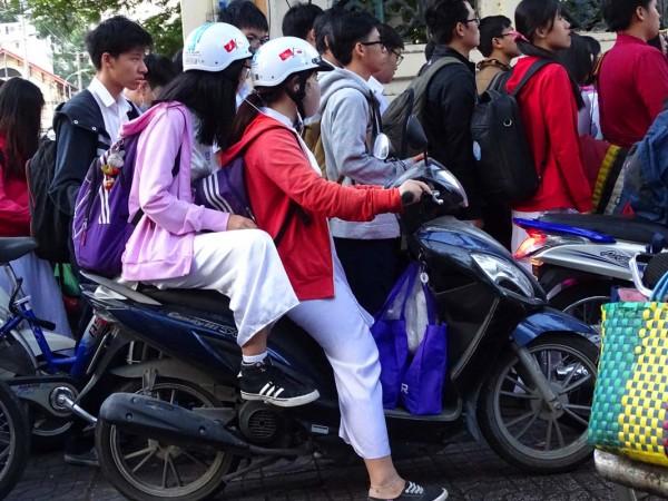 Sài Gòn, Sài Gòn lạnh, thời tiết lạnh, áo ấm 2