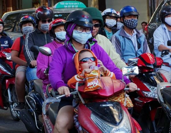 Sài Gòn, Sài Gòn lạnh, thời tiết lạnh, áo ấm 5