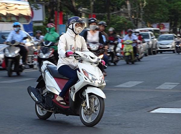 Sài Gòn, Sài Gòn lạnh, thời tiết lạnh, áo ấm 7