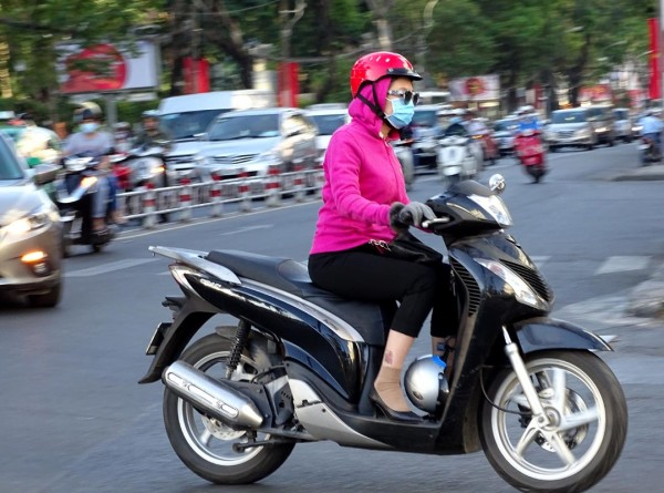 Sài Gòn, Sài Gòn lạnh, thời tiết lạnh, áo ấm 10