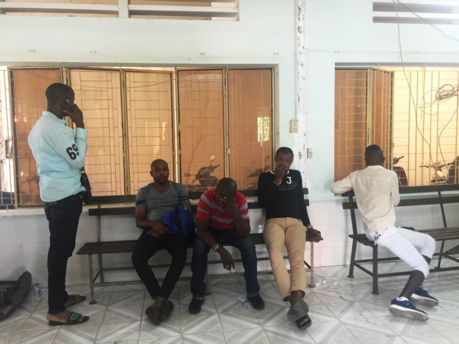 Người gốc Phi - nguoi goc phi nao loan sai gon1