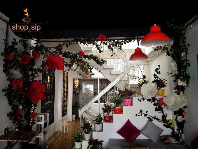 quán cafe đẹp ở sài gòn - mua sắm 9