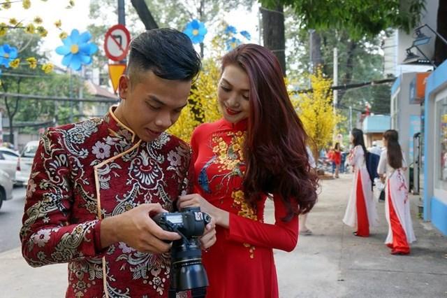 Sài Gòn - chụp hình tết cực chất 1