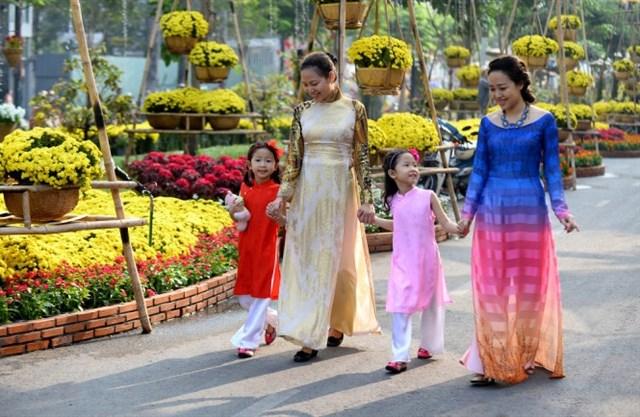 Sài Gòn - chụp hình tết cực chất 11