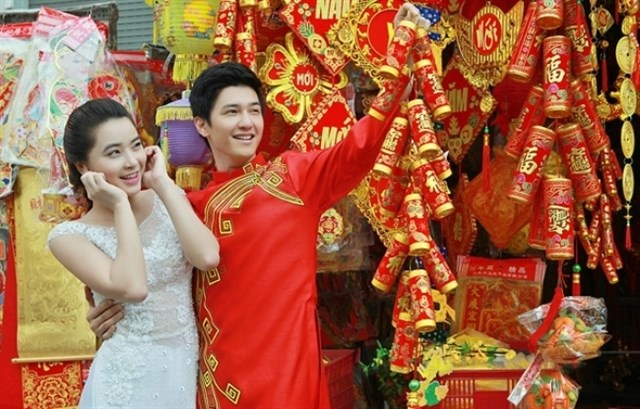 Sài Gòn - chụp hình tết cực chất 14