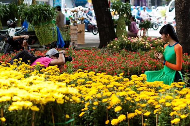 Sài Gòn - chụp hình tết cực chất 27
