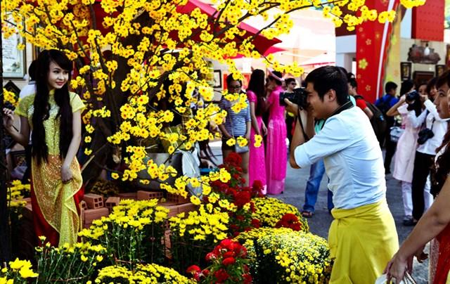 Sài Gòn - chụp hình tết cực chất 7