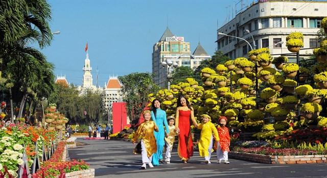 Sài Gòn - chụp hình tết cực chất 9