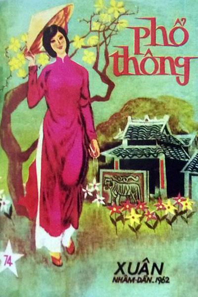 Bìa báo Tết Sài Gòn xưa