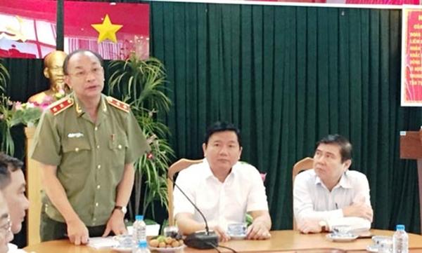 Trung tướng Lê Đông Phong, Giám đốc Công an TP HCM, tin chắc 3 tháng tới, tội phạm sẽ được kéo giảm.