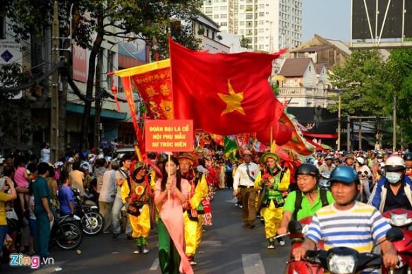 Hội Nguyên tiêu rằm tháng Giêng của người dân tộc Hoa vừa tổ chức chiều 22/2 tại TP HCM.