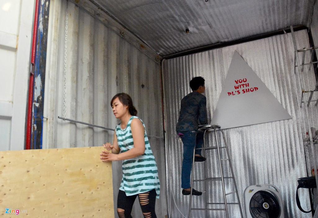 sài gòn _ chợ làm bằng thùng container 8