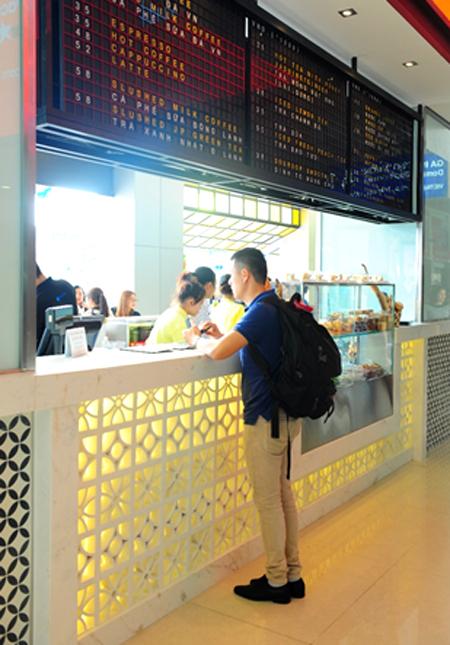 sài gòn - món ăn ở sân bay 10