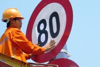 Các xe 4 bánh có thể lưu thông trên đường Mai Chí Thọ vận tốc 80km/giờ.