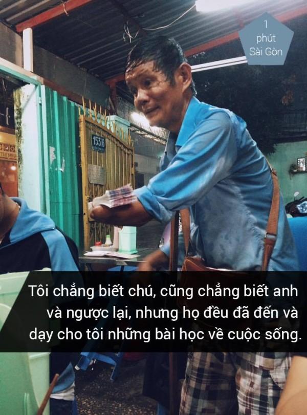 Ảnh: 1 phút Sài Gòn