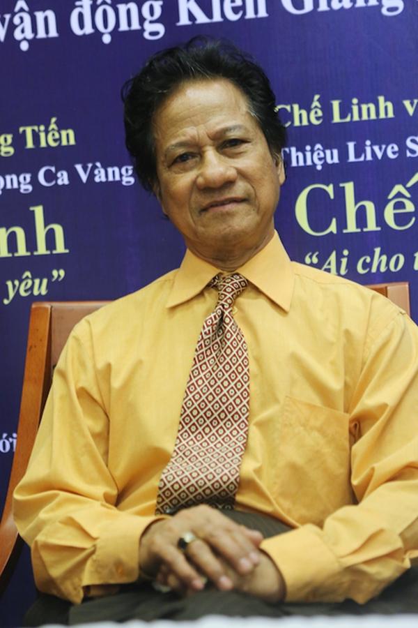 Chế Linh cho biết đây là tour diễn phía Nam lớn nhất của ông và ông hy vọng sẽ không làm công chúng thất vọng.