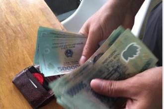 Câu chuyện về sự tử tế khi trả lại số tiền cho người bị mất được chia sẻ trên mạng thu hút nhiều sự quan tâm - Ảnh: Chụp màn hình