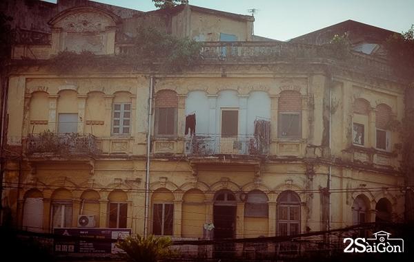 Những ngôi nhà cổ Sài Gòn cuối cùng còn nguyên vẹn.