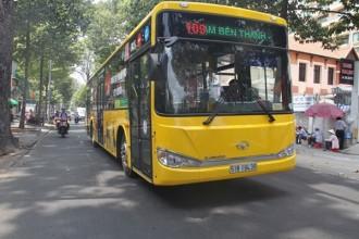 Tuyến xe buýt mới 109 đưa vào sử dụng sẽ có thêm lựa chọn cho du khách khi di chuyển từ sân bay Tân Sơn Nhất về trung tâm TP HCM - Ảnh: Phước Tuần