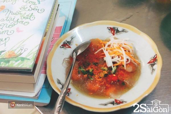 sài gòn - món ăn ngay trường ĐH KHXH&NV 11