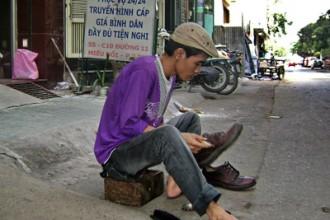 sài gòn - nghề đánh giày 1