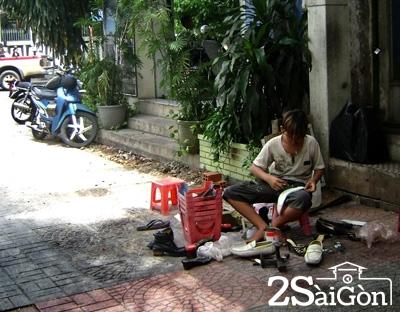 sài gòn - nghề đánh giày 2
