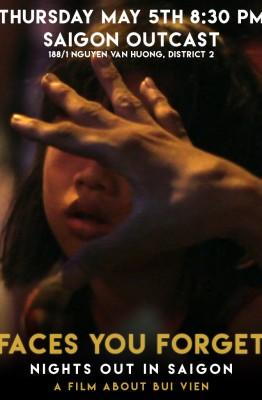 Diễn ra tại Saigon Outcast : 188/1 Nguyễn Văn Hưởng, quận 2 Vào lúc 8h30 tối Thứ năm, ngày 5/5/2016