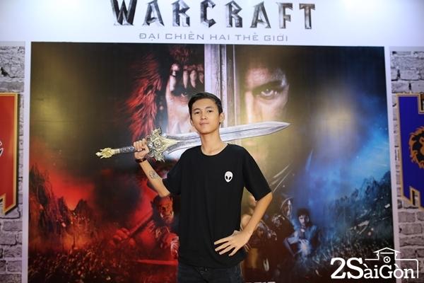 Thịnh Vinh cũng là fan ruột của tựa game Warcraft.