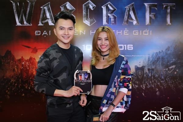 Nam Cường cùng bà xã Phương Thảo.