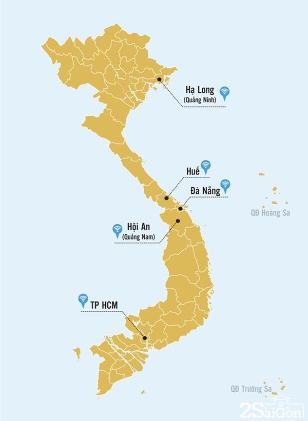 Các địa phương đã được phủ sóng Wi-Fi. Đồ họa: Phương Nguyễn.