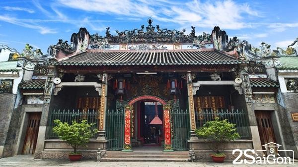 Hội quán Tuệ Thành (Chùa Bà Thiên Hậu).