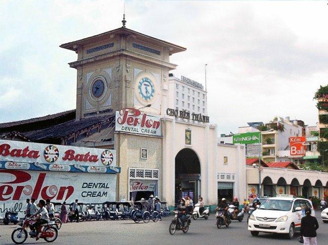 Bộ ành so sánh Sài Gòn xưa và nay 1