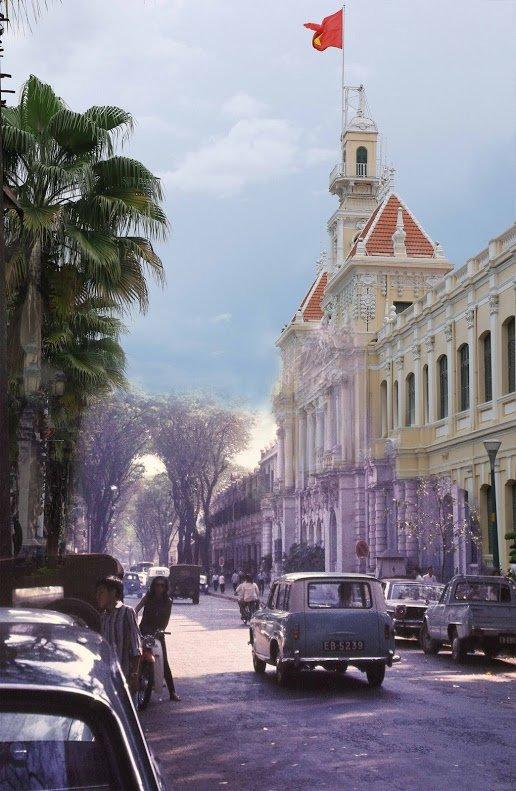 Bộ ành so sánh Sài Gòn xưa và nay 10
