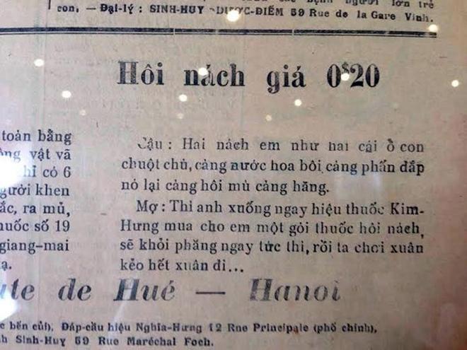 Những kiểu quảng cáo của người Sài Gòn xưa 12