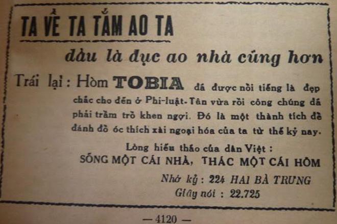 Những kiểu quảng cáo của người Sài Gòn xưa 3