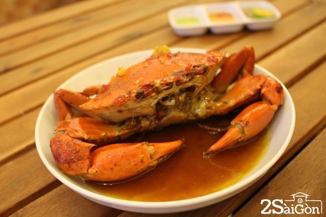 Những món ăn từ cua biển hút khách ở Sài Gòn 5