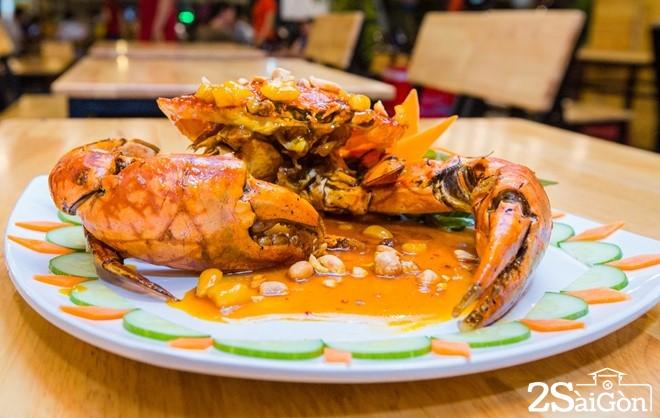 Những món ăn từ cua biển hút khách ở Sài Gòn 6