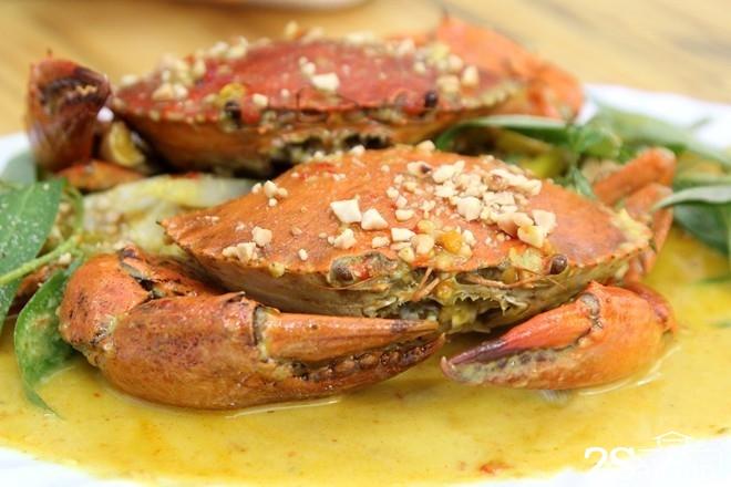 Những món ăn từ cua biển hút khách ở Sài Gòn 7