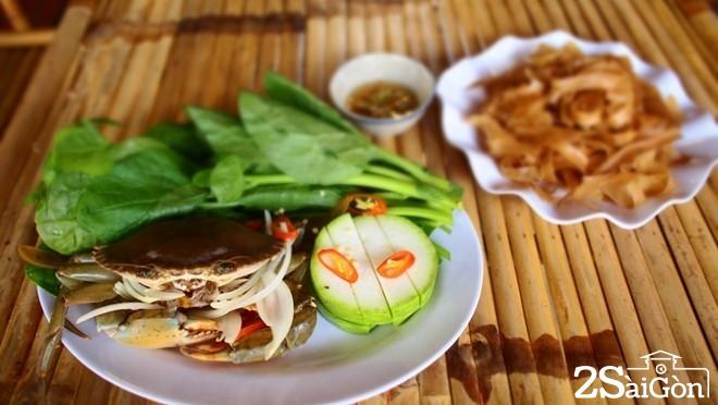Những món ăn từ cua biển hút khách ở Sài Gòn 8
