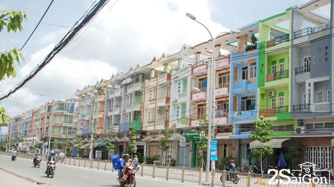 Sài Gòn những đường phố đồng phục 1